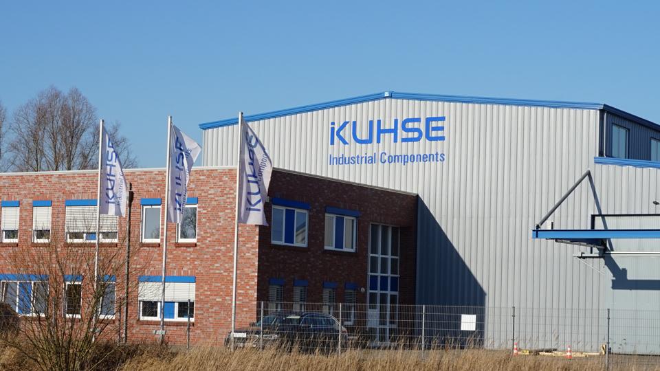 Außenansicht Gebäude der Kuhse Industrial Components GmbH